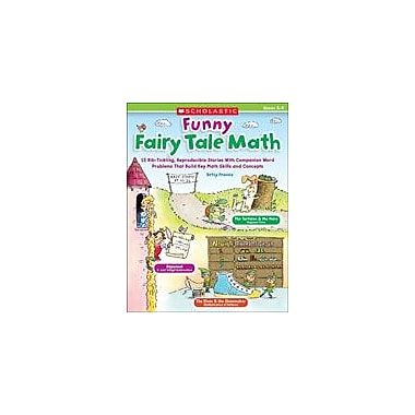 Scholastic Funny Fairy Tale Math Math Workbook, Grade 3 - Grade 4 [eBook]