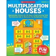 Scholastic - Manuel de mathématiques Multiplication Houses, 2e à 5e année [livre numérique]