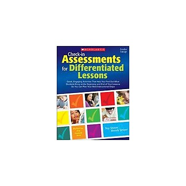Scholastic Check-In Assessments for Differentiated Lessons Special Needs Workbook, Grade 5 - Grade 12 [eBook]