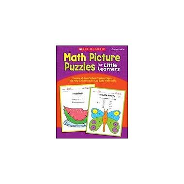 Scholastic Math Picture Puzzles for Little Learners Math Workbook, Preschool - Kindergarten [eBook]