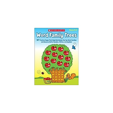 Scholastic Word Family Trees Reading & Writing Workbook, Kindergarten - Grade 2 [eBook]