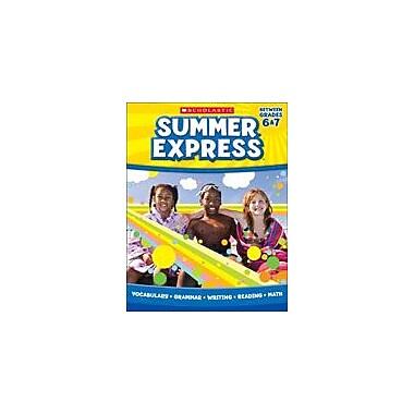 Scholastic Summer Express Between Sixth And Seventh Grade Math