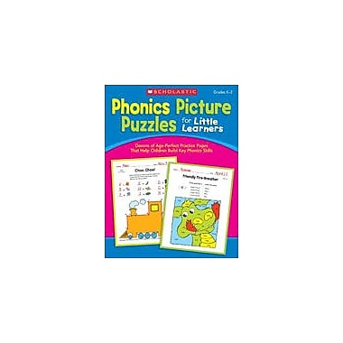 Scholastic Phonics Picture Puzzles for Little Learners Reading & Writing Workbook, Kindergarten - Grade 2 [eBook]