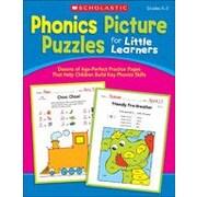 Scholastic - Manuel de lecture et d'écriture « Phonics Picture Puzzles », maternelle à 2e année [livre numérique]