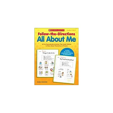 Scholastic Follow-The-Directions: All About Me Character & Social Skills Workbook, Preschool - Grade 1 [eBook]