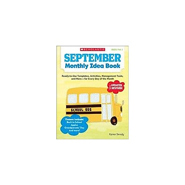 Scholastic September Monthly Idea Book Teacher Planning Workbook, Preschool - Grade 3 [eBook]