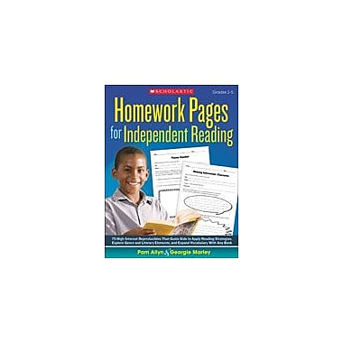 Scholastic Homework Pages for Independent Reading Reading & Writing Workbook, Grade 3 - Grade 5 [eBook]