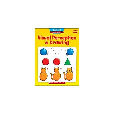 Scholastic Preschool Basic Skills: Visual Perception and Drawing Problem Solving Workbook, Preschool [eBook]