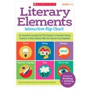 Scholastic Literary Elements Interactive Flip Chart Reading