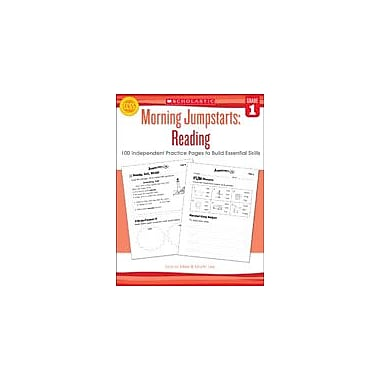 Scholastic Morning Jumpstarts: Reading Reading & Writing Workbook, Grade 1 [eBook]