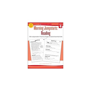Scholastic Morning Jumpstarts: Reading Reading & Writing Workbook, Grade 4 [eBook]