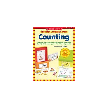 Scholastic Shoe Box Learning Centers: Counting Math Workbook, Kindergarten - Grade 2 [eBook]