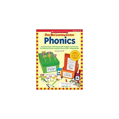 Scholastic Shoe Box Learning Centers: Phonics Reading & Writing Workbook, Kindergarten - Grade 2 [eBook]