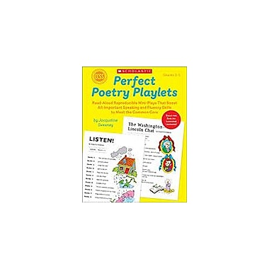 Scholastic Perfect Poetry Playlets Reading & Writing Workbook, Grade 3 - Grade 5 [eBook]