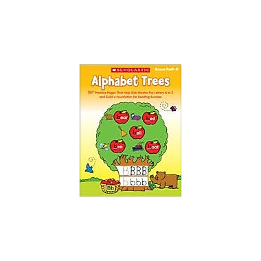 Scholastic Alphabet Trees Reading & Writing Workbook, Preschool - Grade 1 [eBook]