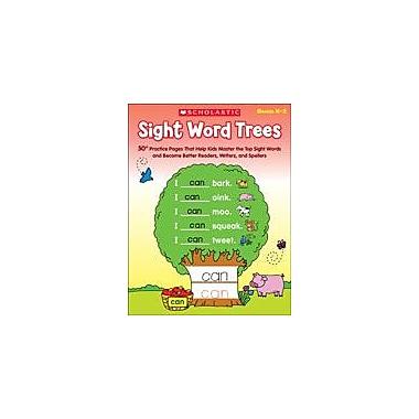 Scholastic Sight Word Trees Reading & Writing Workbook, Kindergarten - Grade 2 [eBook]