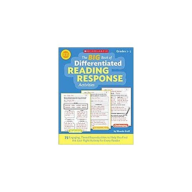 Scholastic The Big Book of Differentiated Reading Response Activities Reading & Writing Workbook, Grade 2 - Grade 3 [eBook]