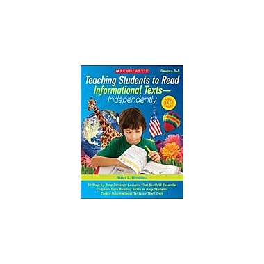 Scholastic Teaching Students To Read Informational Texts - Independently! Language Arts Workbook, Grade 3 - Grade 5 [eBook]