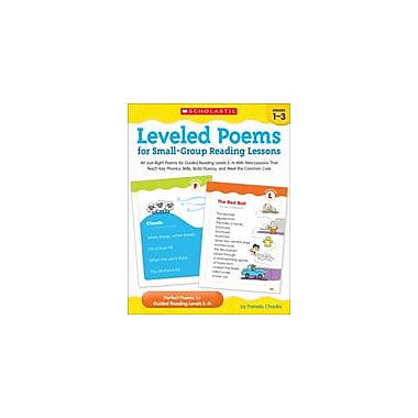 Scholastic Leveled Poems for Small-Group Reading Lessons Reading & Writing Workbook, Grade 1 - Grade 3 [eBook]