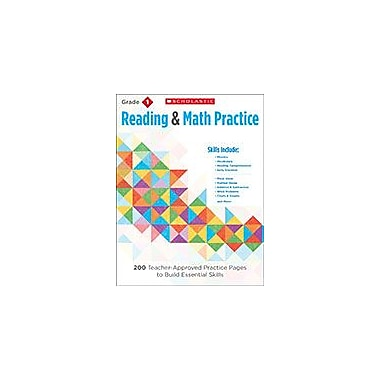 Scholastic Reading & Math Practice: Grade 1 Reading & Writing Workbook, Grade 1 [eBook]