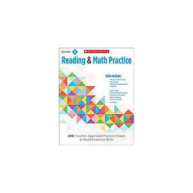 Scholastic Reading & Math Practice: Grade 3 Reading & Writing Workbook, Grade 3 [eBook]