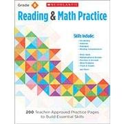 Scholastic - Manuel de lecture et d'écriture Reading and Math Practice, 5e année [livre numérique]