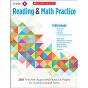 Scholastic – Manuel de lecture et d'écriture « Reading and Math Practice », 6e année [livre numérique]