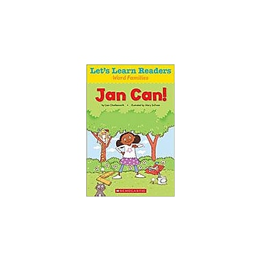 Scholastic Let's Learn Readers Word Families: Jan Can! Reading & Writing Workbook, Kindergarten - Grade 2 [eBook]