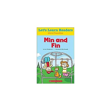 Scholastic Let's Learn Readers Word Families: Min and Fin Reading & Writing Workbook, Kindergarten - Grade 2 [eBook]
