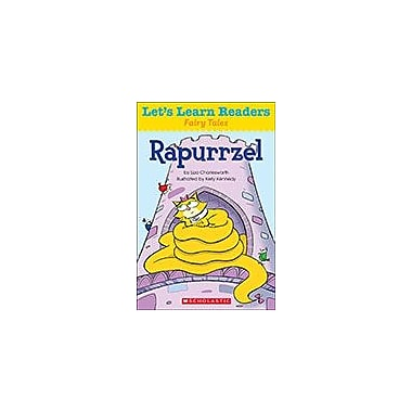 Scholastic Let's Learn Readers Fairy Tales: Rapunzel Reading & Writing Workbook, Kindergarten - Grade 2 [eBook]