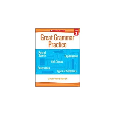 Scholastic Great Grammar Practice: Grade 1 Reading & Writing Workbook, Grade 1 [eBook]