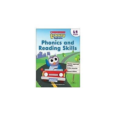 Scholastic Scholastic Learning Express Level 1: Phonics and Reading Skills Reading & Writing Workbook, Grade 1 [eBook]