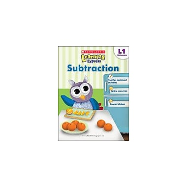 Scholastic Scholastic Learning Express Level 1: Subtraction Math Workbook, Grade 1 [eBook]