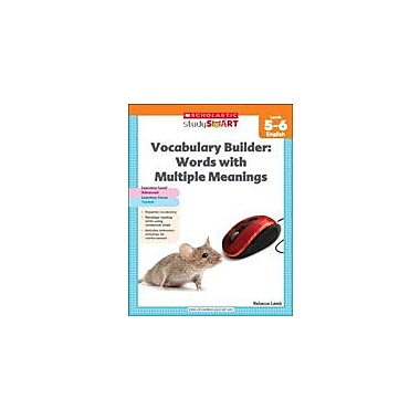 Scholastic Scholastic Study Smart Vocabulary Builder: Words With Multiple Meanings Level 5-6, Grade 5 - Grade 6 [eBook]