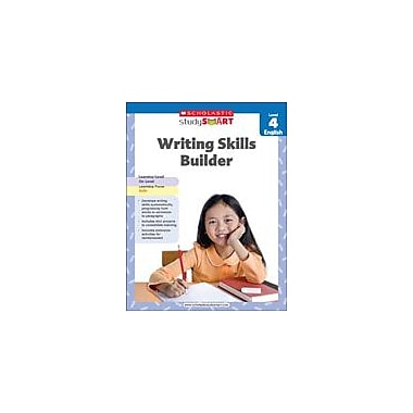Scholastic Scholastic Study Smart Writing Skills Builder Level 4 Reading & Writing Workbook, Grade 4 [eBook]