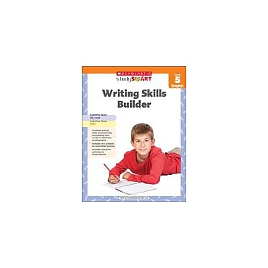 Scholastic Scholastic Study Smart Writing Skills Builder Level 5 Reading & Writing Workbook, Grade 5 [eBook]