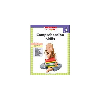 Scholastic Scholastic Study Smart Comprehension Skills Level 1 Reading & Writing Workbook, Grade 1 [eBook]