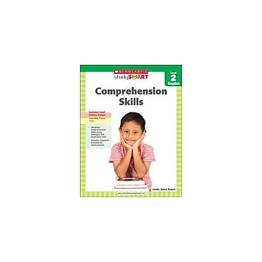 Scholastic Scholastic Study Smart Comprehension Skills Level 2 Reading & Writing Workbook, Grade 2 [eBook]
