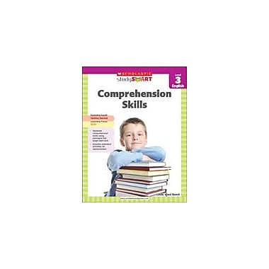 Scholastic Scholastic Study Smart Comprehension Skills Level 3 Reading & Writing Workbook, Grade 3 [eBook]