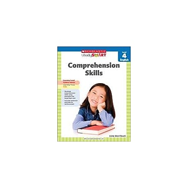 Scholastic Scholastic Study Smart Comprehension Skills Level 4 Reading & Writing Workbook, Grade 4 [eBook]