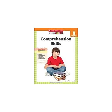 Scholastic Scholastic Study Smart Comprehension Skills Level 5 Reading & Writing Workbook, Grade 5 [eBook]