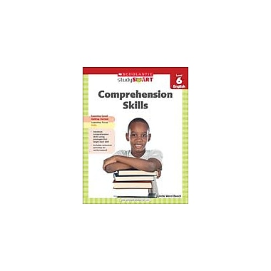 Scholastic Scholastic Study Smart Comprehension Skills Level 6 Reading & Writing Workbook, Grade 6 [eBook]