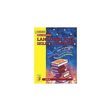 Saddleback Educational Publishing English-Language Arts Skills and Strategies Level 3, Grade 3 - Grade 12 [eBook]