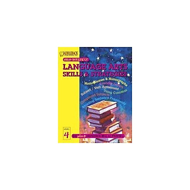 Saddleback Educational Publishing English-Language Arts Skills and Strategies Level 4, Grade 3 - Grade 12 [eBook]
