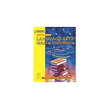 Saddleback Educational Publishing English-Language Arts Skills and Strategies Level 5, Grade 3 - Grade 12 [eBook]
