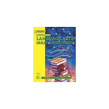 Saddleback Educational Publishing English-Language Arts Skills and Strategies Level 6, Grade 3 - Grade 12 [eBook]