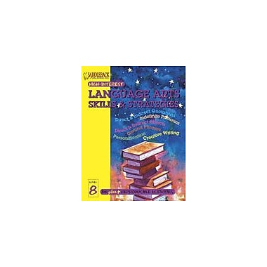 Saddleback Educational Publishing English-Language Arts Skills and Strategies Level 8, Grade 3 - Grade 12 [eBook]