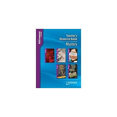 Saddleback Educational Publishing Mystery Teacher's Guide Test Prep Workbook, Grade 9 - Grade 12 [eBook]