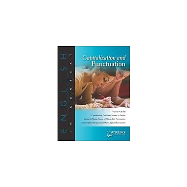Saddleback Educational Publishing Capitalization and Punctuation Reading & Writing Workbook, Grade 6 - Grade 12 [eBook]