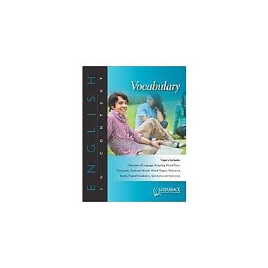 Saddleback Educational Publishing Vocabulary Reading & Writing Workbook, Grade 6 - Grade 12 [eBook]